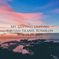 MT. GUITING GUITING + ROMBLON TOUR V.6