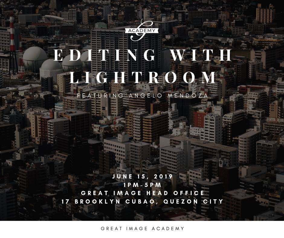 EDITING WITH LIGHTROOM