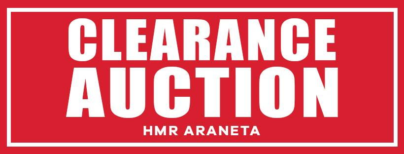 CLEARANCE AUCTION
