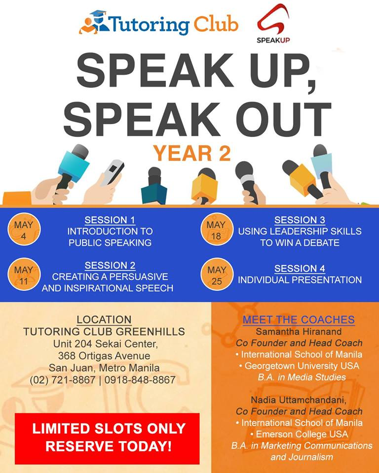 SPEAK UP, SPEAK OUT 2
