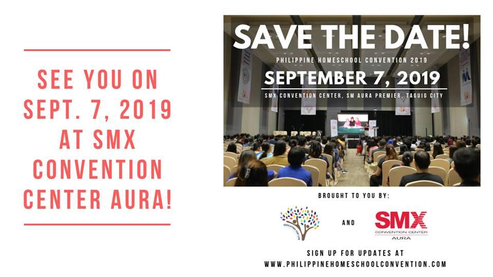 PHILIPPINE HOMESCHOOL CONVENTION 2019