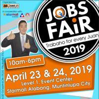 JOBS FAIR 2019: TRABAHO FOR EVERY JUAN