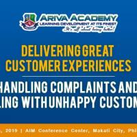 HANDLING COMPLAINTS AND DEALING WITH UNHAPPY CUSTOMERS