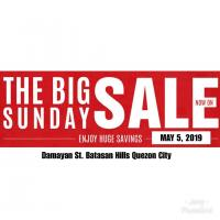 THE BIG SUNDAY SALE