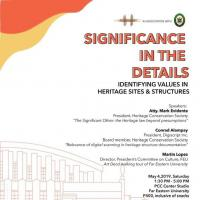 Significance in the Details : Identifying Values in Heritage Sites & Structures