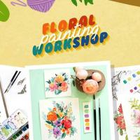 FLORAL PAINTING WORKSHOP