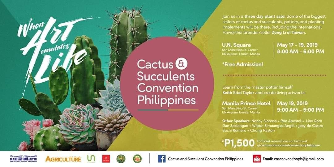 CACTUS AND SUCCULENTS CONVENTION PHILIPPINES