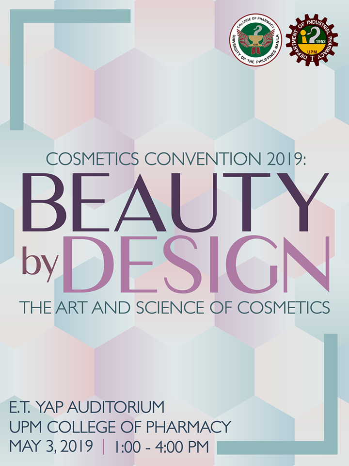 COSMETICS CONVENTION 2019 - What's Happening