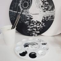 STAR WARS DEATH STAR PAINTING WORKSHOP