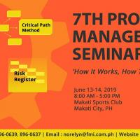 THE 7TH PROJECT MANAGEMENT SEMINAR-WORKSHOP 2019