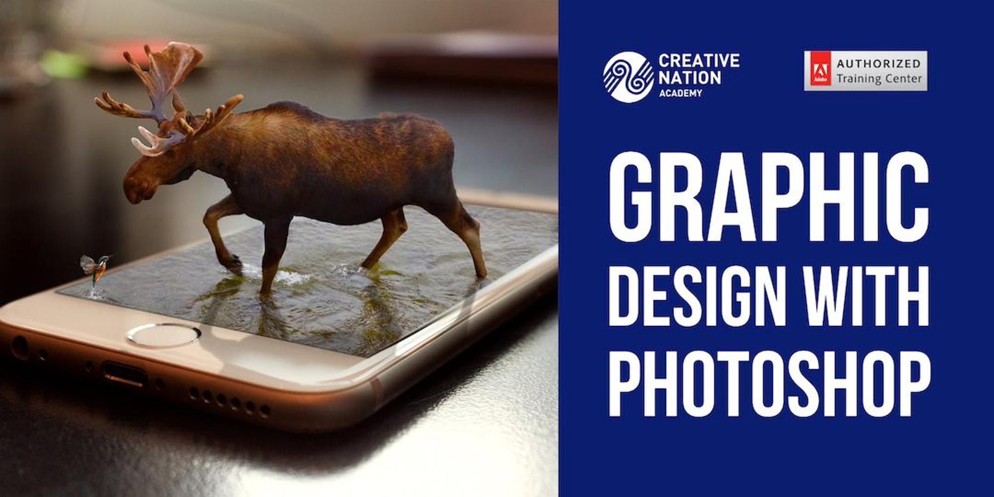 GRAPHIC DESIGN WITH PHOTOSHOP WORKSHOP