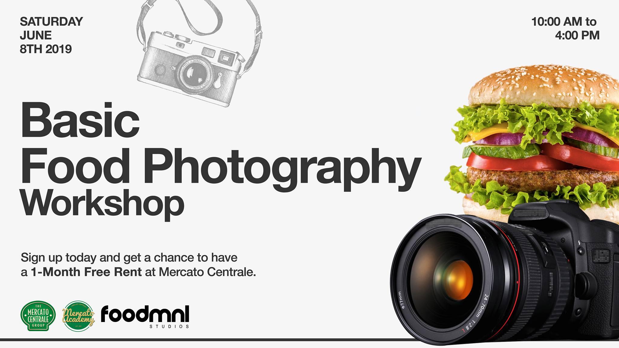 BASIC FOOD PHOTOGRAPHY WORKSHOP