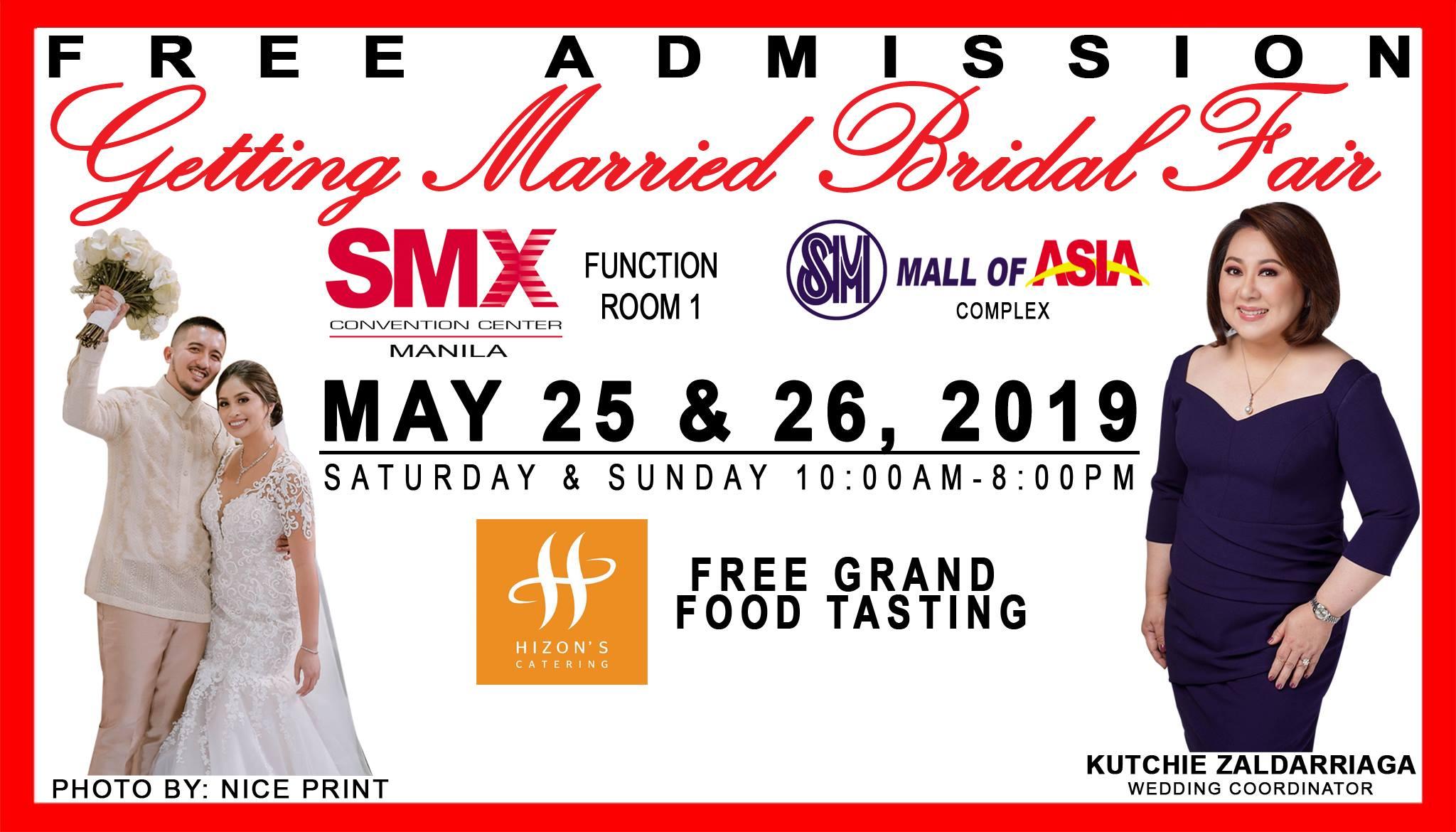 GETTING MARRIED BRIDAL FAIR