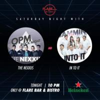 THE NEXXUS & IN TO IT BAND AT FLARE BAR
