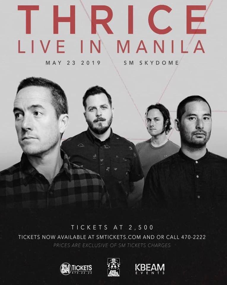THRICE : LIVE AT THE SKYDOME