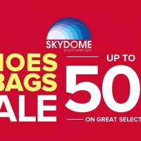 SHOES AND BAGS SALE AT SKYDOME
