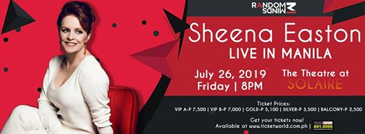 SHEENA EASTON LIVE IN MANILA!
