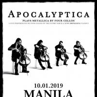 APOCALYPTICA PLAYS METALLICA BY FOUR CELLOS IN MANILA
