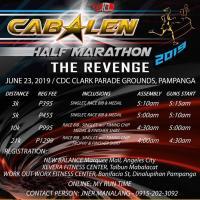 "CABALEN HALF MARATHON ""THE REVENGE"""