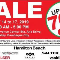 WAREHOUSE SALE- MAY 14-17, 2019