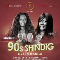 90'S SHINDIG FEATURING BLACK BOX AND SYBIL