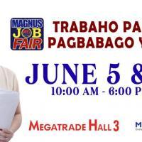 MAGNUS JOB FAIR: TRABAHO PARA SA PAGBABAGO YEAR 3