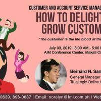 CUSTOMER AND ACCOUNT SERVICE MANAGEMENT SEMINAR 2019