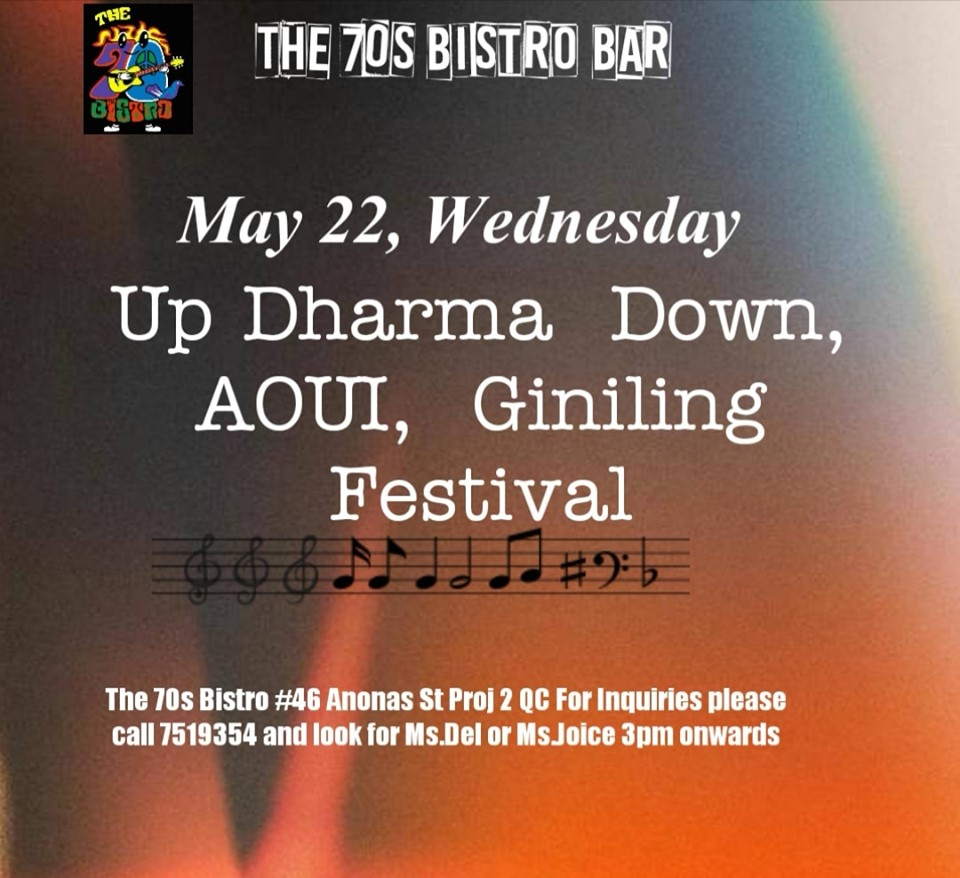 TERNO NIGHT AT THE 70'S BISTRO