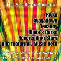 EAT BULAGA MUSIC HERO, RIVKA, AVAYADOWN, TEVANNY, OLIVIA CURSE, NEVERENDING STORY AT THE 70'S BISTRO