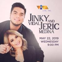 JINKY VIDAL & JERIC MEDINA AT THE MUSIC HALL