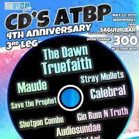CD'S ATPB 4TH YEAR ANNIVERSARY AT AT SAGUIJO CAFE + BAR EVENTS