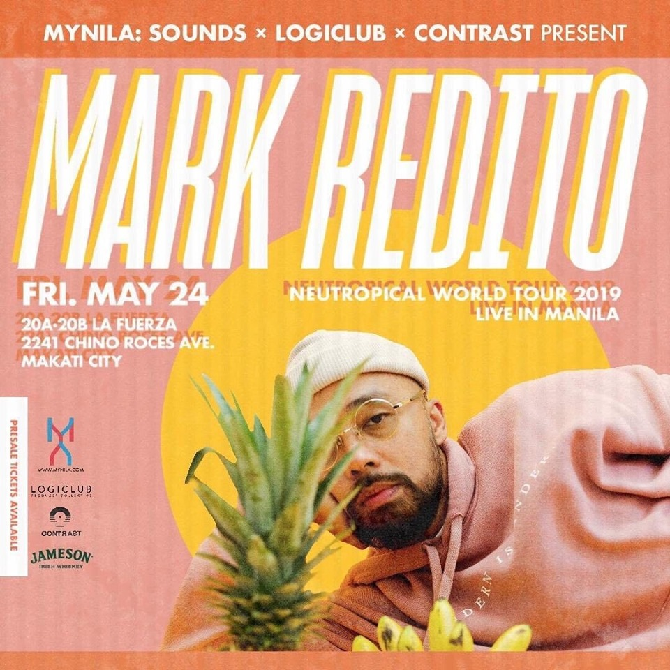 MARK REDITO - NEUTROPICAL TOUR AT XX XX