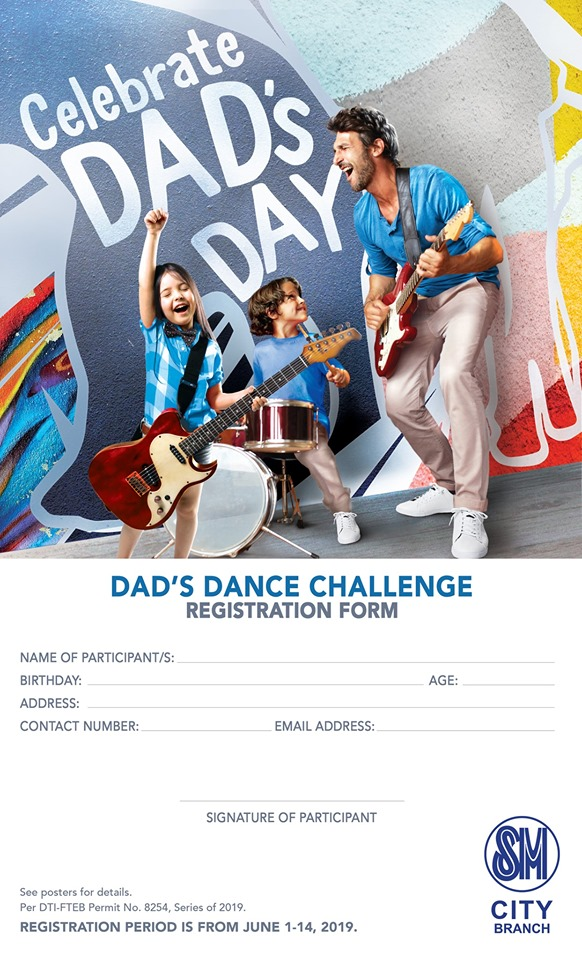 Dad's Day Challenge (dance competition)