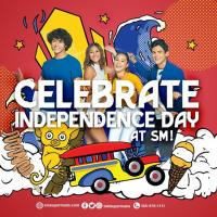 Celebrate Independence Day at SM