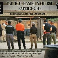 Interested Tactical Handgun Course
