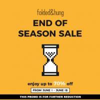 FOLDED&HUNG END OF SEASON SALE