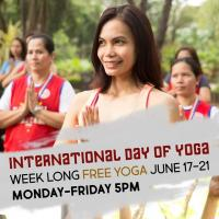 International Day of Yoga FREE YOGA