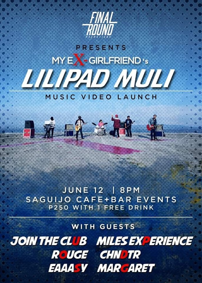 MYEK-GIRLFRIENDS MUSIC VIDEO LAUNCH AT SAGUIJO CAFE + BAR EVENTS