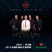 JOEY REVILLAME BAND AT FLARE BAR