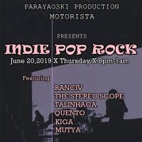 INDIE POP ROCK AT MOTORISTA BAR & GRILL