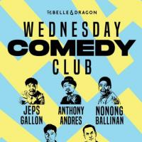 WEDNESDAY COMEDY CLUB AT THE BELLE AND DRAGON