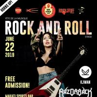 FÊTE DE LA MUSIQUE 2019: ROCK AND ROLL STAGE AT MAKATI SPORTS BAR