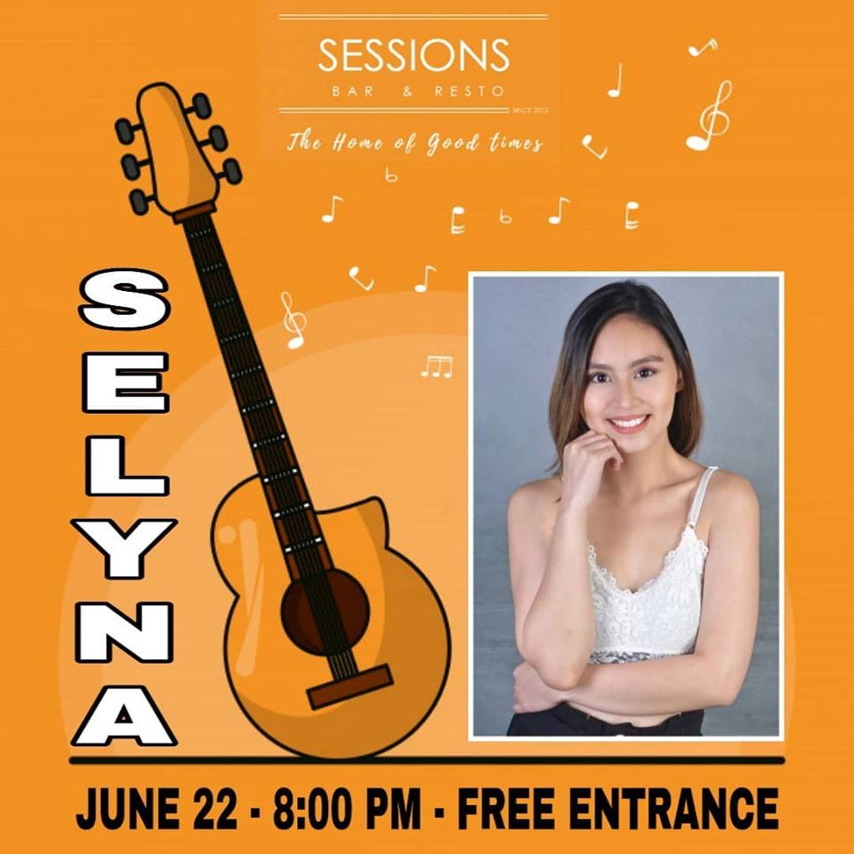 SELYNA RAMOS AT SESSIONS BAR MNL