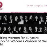 Wacoal Philippines Women of the World Exhibit
