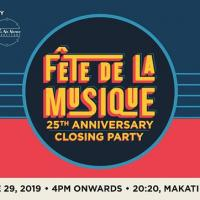 FÊTE DE LA MUSIQUE 25TH ANNIVERSARY CLOSING PARTY AT 20:20