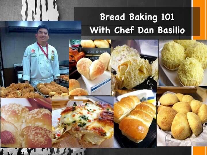 Bread Baking 101 by Chef Dan Basilio