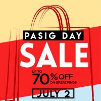 SM City East Ortigas Pasig Day Sale