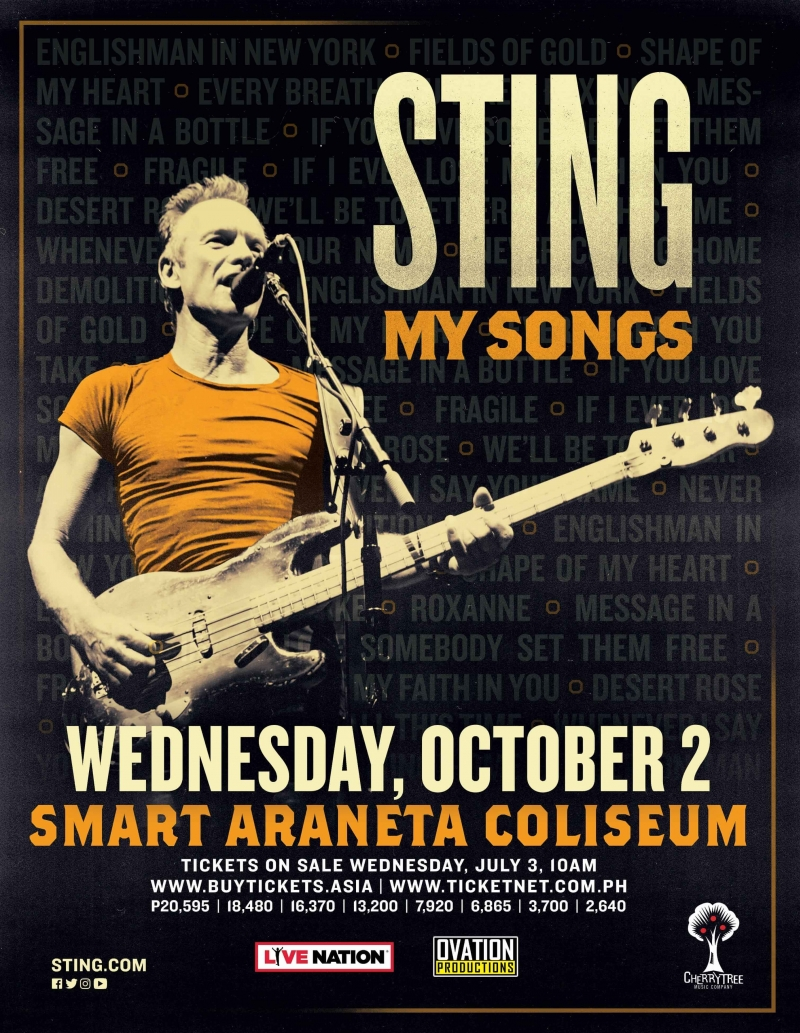 Sting: My Songs Live In Manila