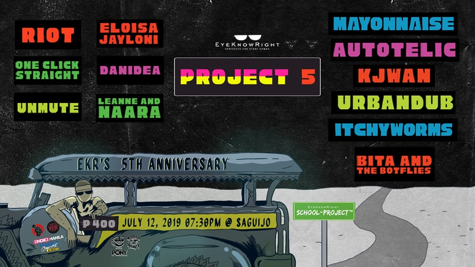 EYE KNOW RIGHT ANNIVERSARY AT SAGUIJO CAFE + BAR EVENTS