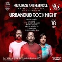 ROCK GIG WITH URBANDUB FOR THE BENEFIT OF PCS95 SOCIAL PROJECT AT 12 MONKEYS MUSIC HALL & PUB